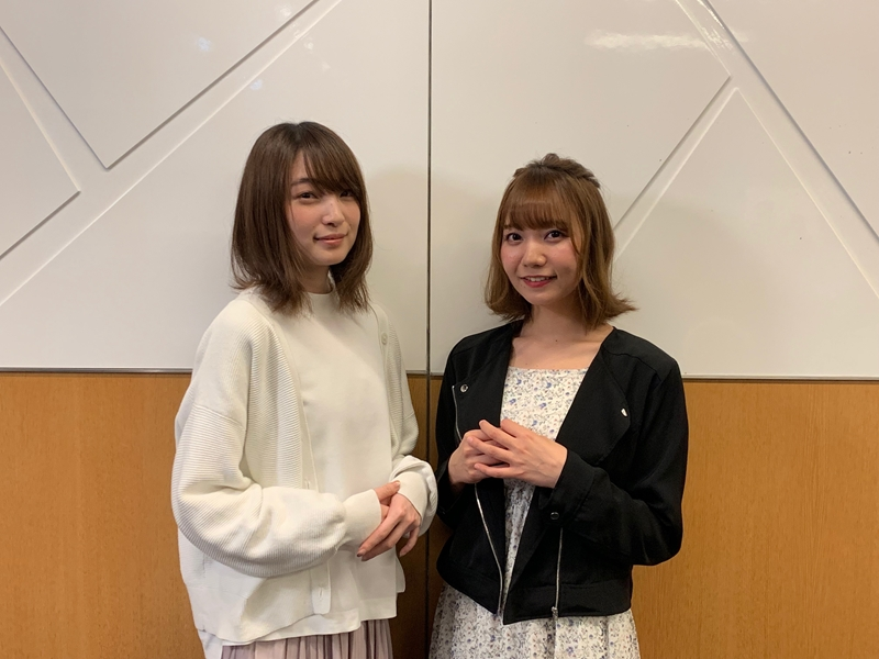 Rena Ueda (left) and Azumi Waki (right)