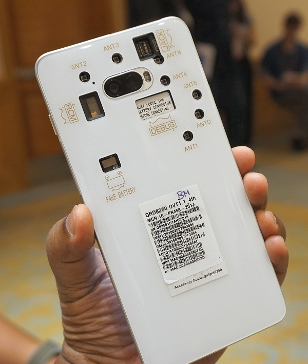 A reference Snapdragon 865 powered phone.