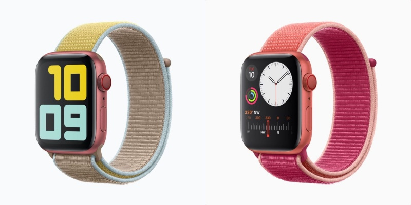PRODUCT (RED) Apple Watch Series 5.