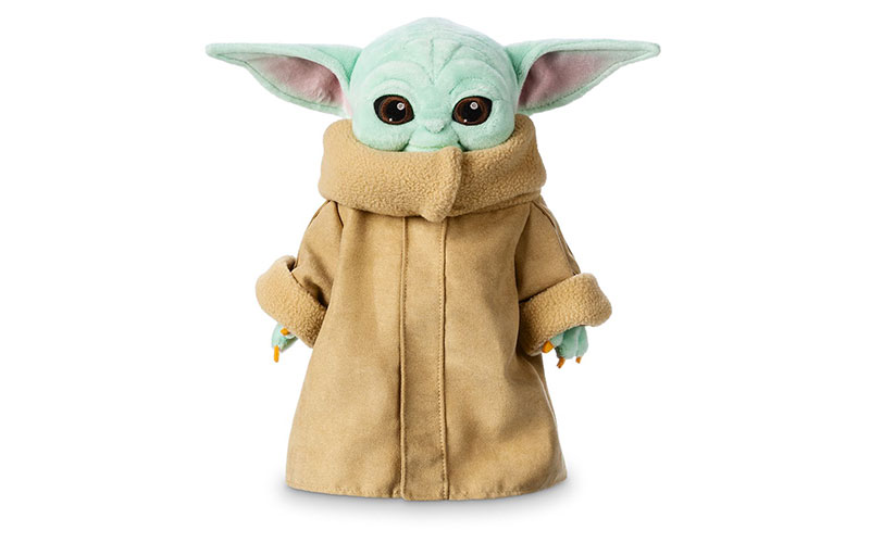 Baby Yoda official plushie
