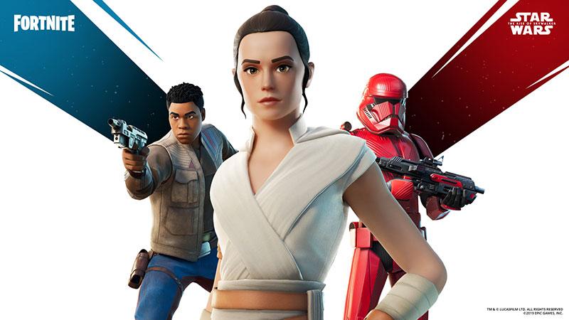 Fortnite Star Wars Rey