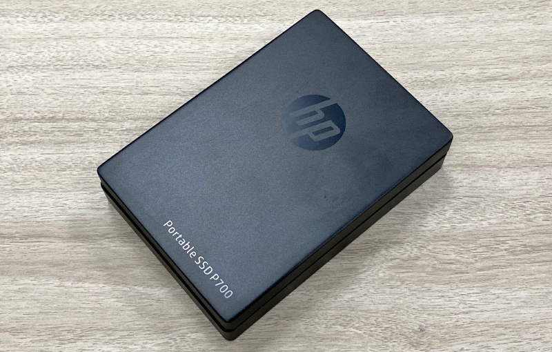 The new HP P700 portable external SSD promises data transfer rates of up to 1,000MB/s.