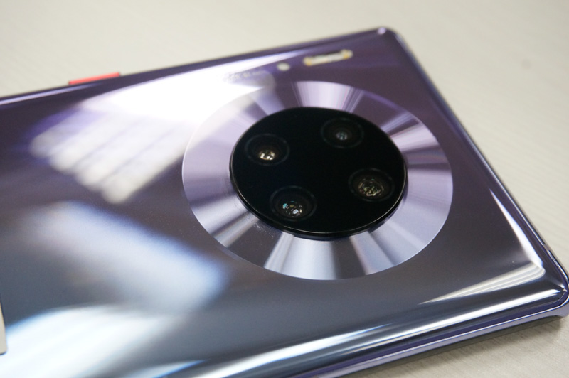 The SuperSensing Cine camera of Huawei Mate 30 Pro.