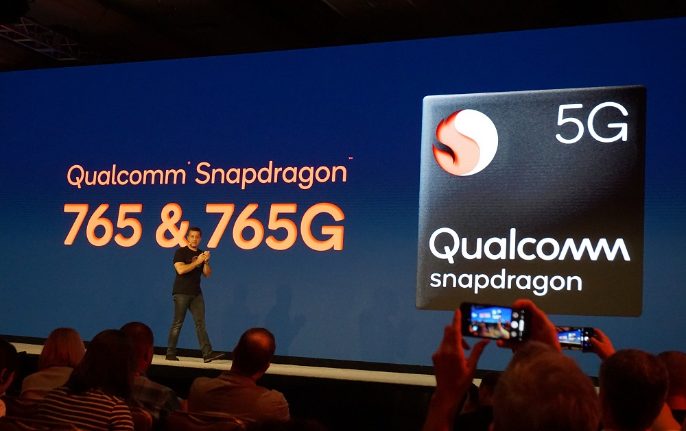 Alex Katouzian, SVP & GM of Mobile at Qualcomm Technologies, unveiled the Snapdragon 765 and 765G mobile platforms.