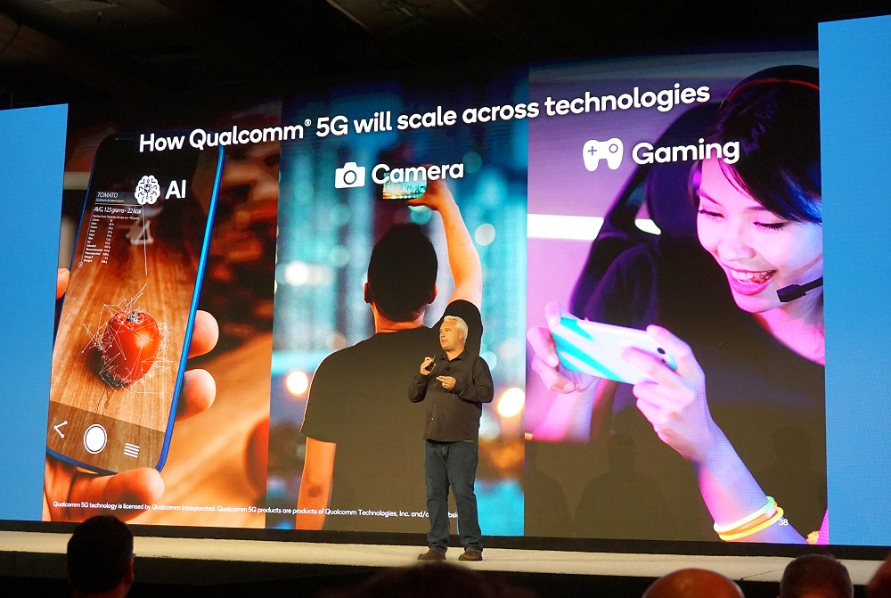 We'll be exploring each of these 3 tenets that the Snapdragon 865 wants to champion in – AI, camera and gaming.