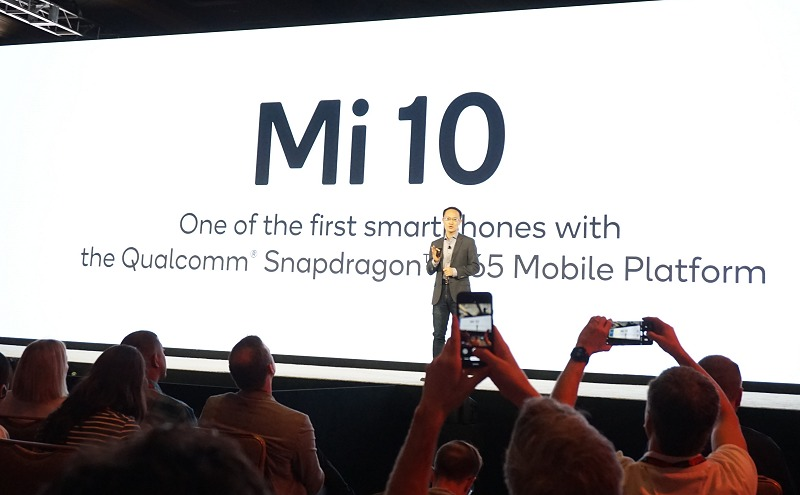 Xiaomi's co-founder and vice-chairman, Bin Lin, attended Qualcomm's Snaprdragon Summit 2019 personally to inform the audience of their upcoming flagship phone Mi 10 which will use the Snapdragon 865.