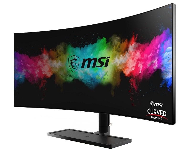 MSI's 34-inch Optix MAG342CQR is the world's first 1000R curved gaming monitor.