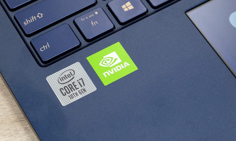 Intel CPU, NVIDIA GPU.