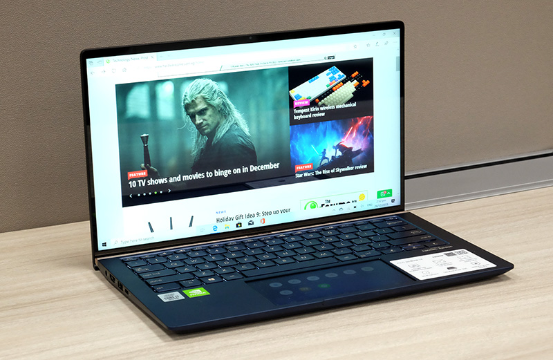 The ZenBook 14 UX434 offers value that is hard to beat.