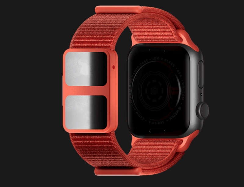 The Aura Strap for the Apple Watch.