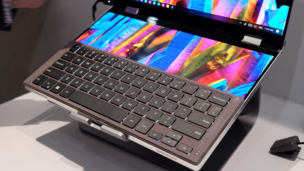 Dell Concept Duet keyboard