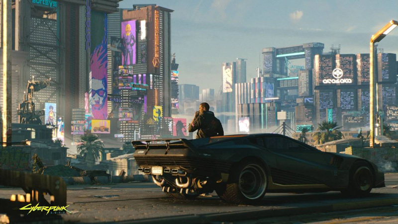 That gorgeous city? You can't touch that for another nine months. | Image: CD Projekt Red