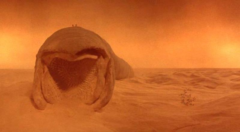 Sandworms! | Image: Dune (1984), Universal Studios