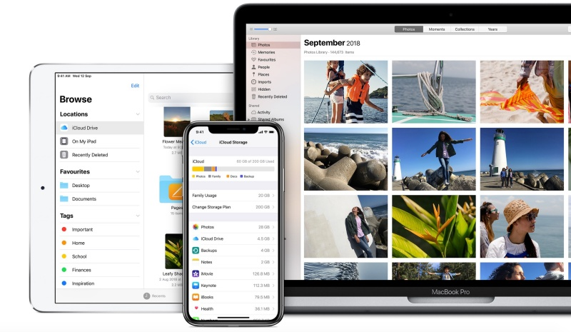 iCloud is built into every Apple device.