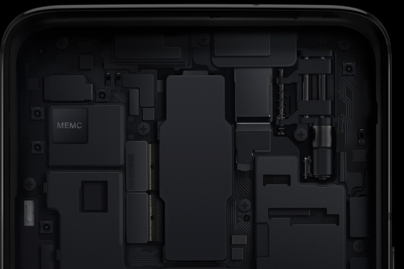 Image of the MEMC hardware sent by OnePlus to The Verge.