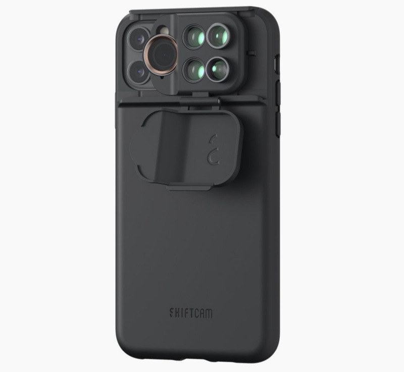 The ShiftCam 5-in-1 MultiLens Case for the Apple iPhone 11 Pro Max.