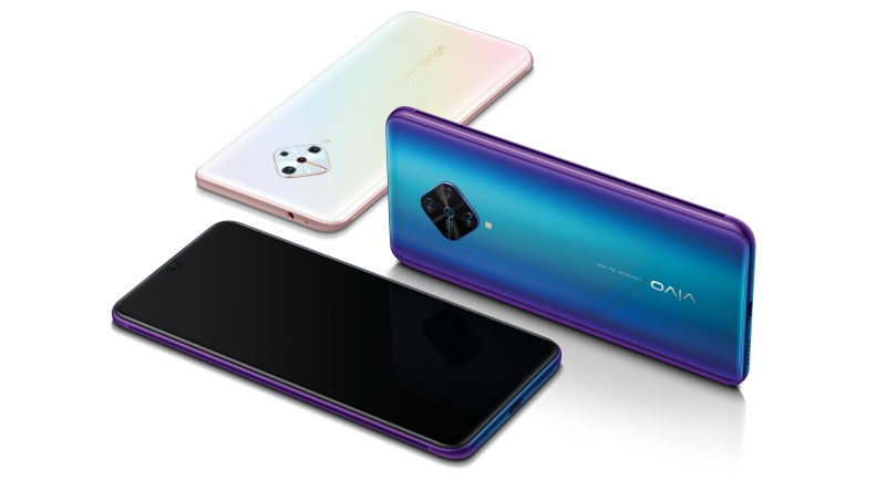 The Vivo V17 smartphone.