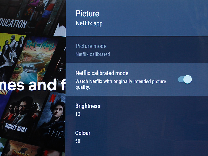Most people don't calibrate their TVs but many people watch Netflix — hence this mode.