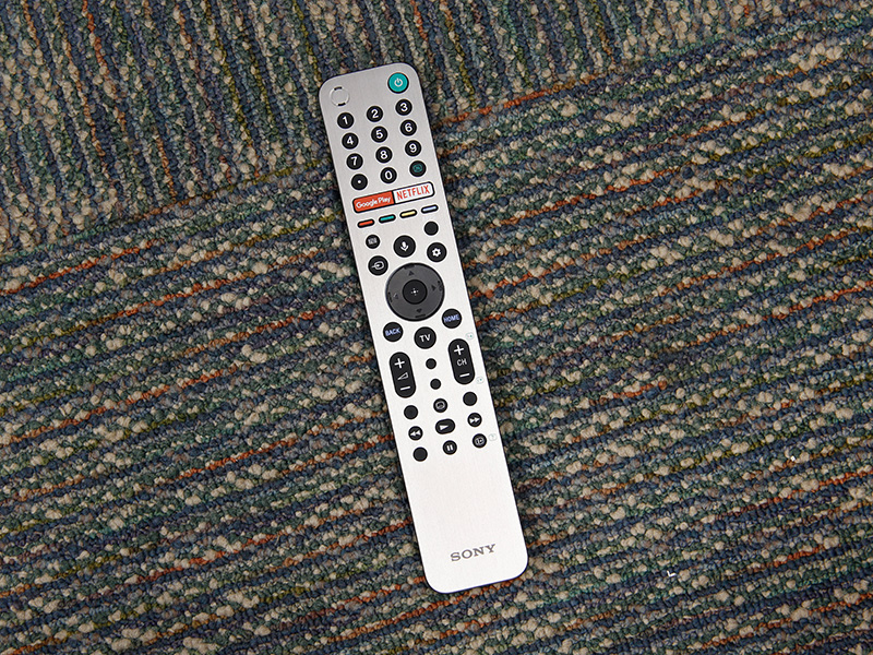 The metallic-looking plastic remote offers one-click access to the native Netflix app, which is nice. It has a built-in mic and for voice search to work, it's to be connected over Bluetooth.