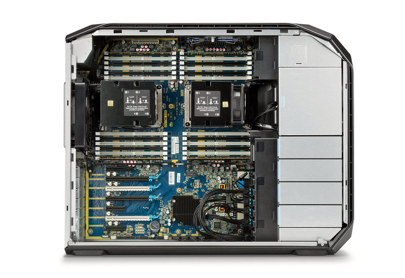 A Z by HP Workstation.