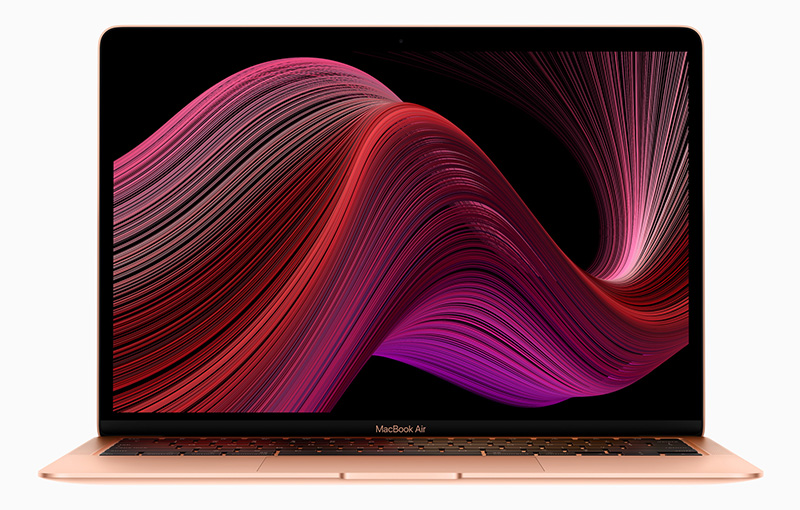 This is the new MacBook Air. (image source: Apple)