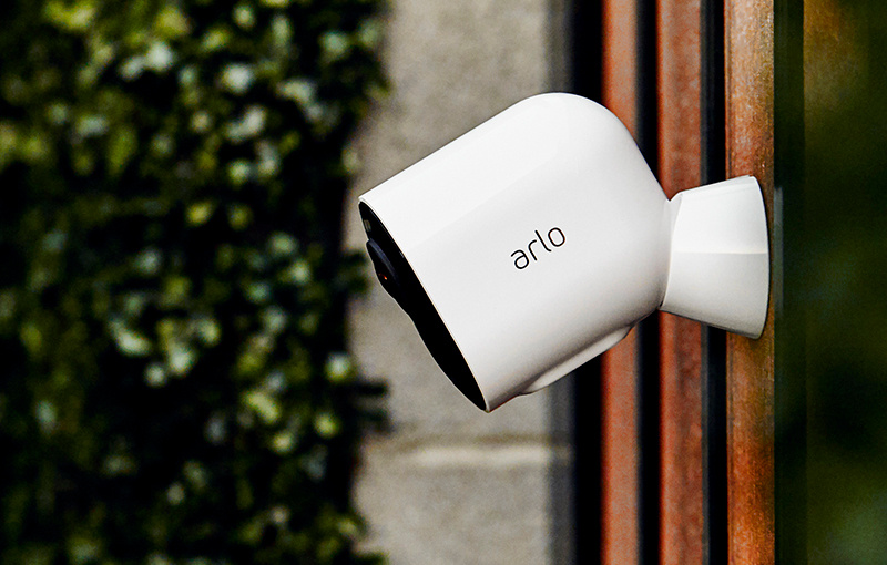 The Arlo Ultra can be positioned freely as long as it is within Wi-Fi range. (Image source: Arlo)