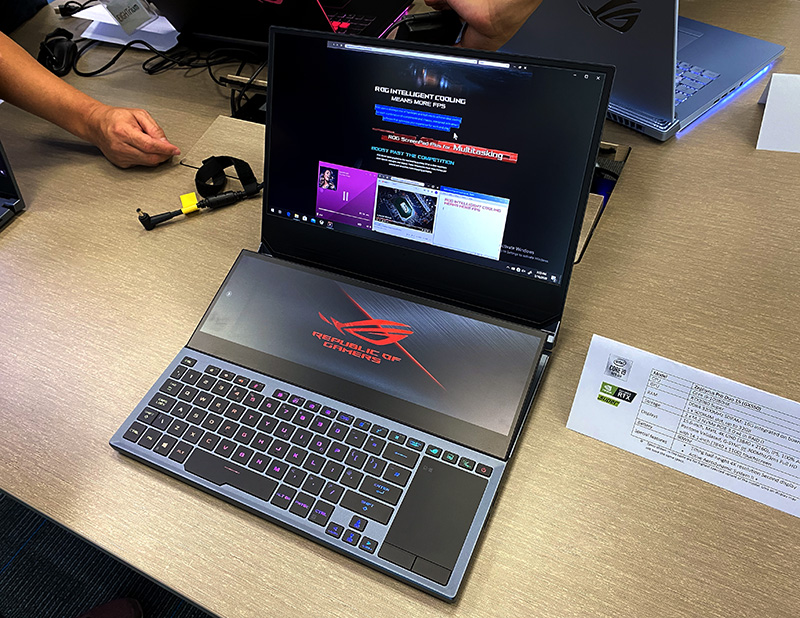 With dual displays and the latest in gaming hardware, don't expect the ASUS ROG Zephyrus Duo 15 to come cheap.
