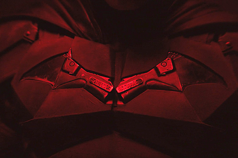 The Bat-symbol. | Image: Matt Reeves