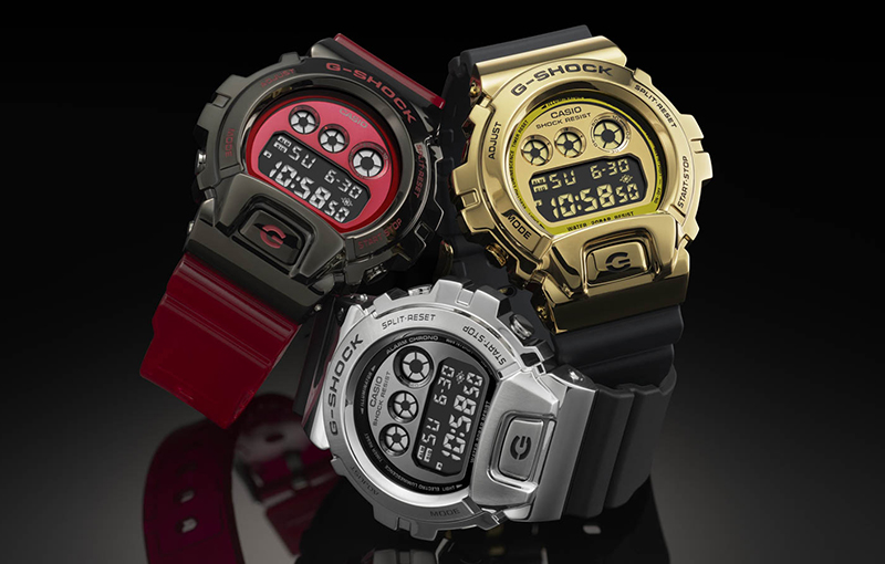 The new G-Shock GM-6900 (Image source: Casio)
