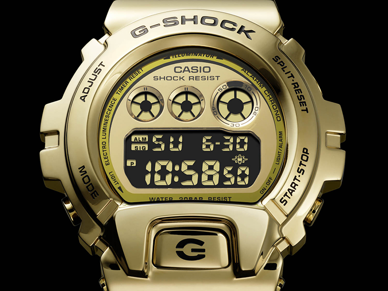 Closeup of the GM-6900G. (Image source: Casio)