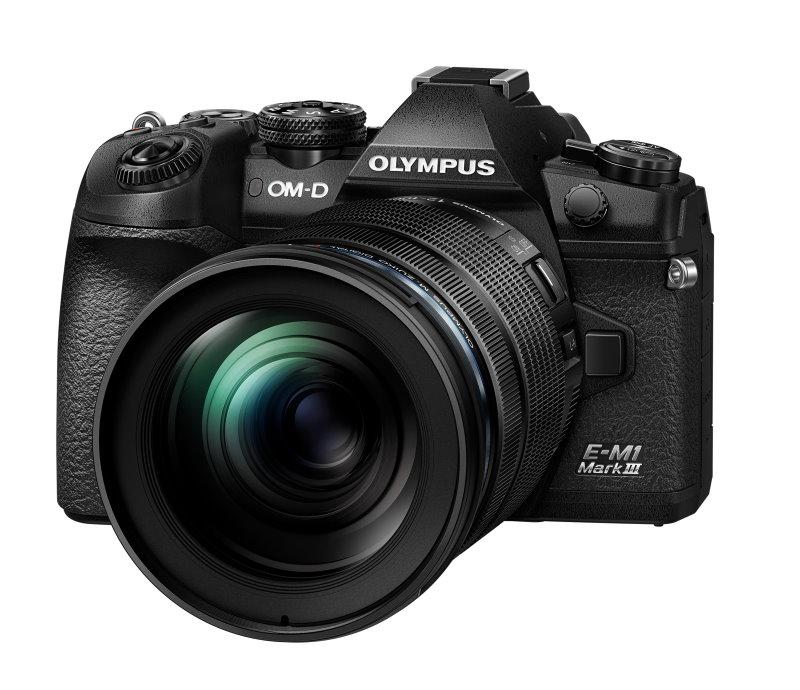Olympus OM-D E-M1 Mark III with Olympus M.Zuiko 12-100mm f/4 lens. Image: Olympus