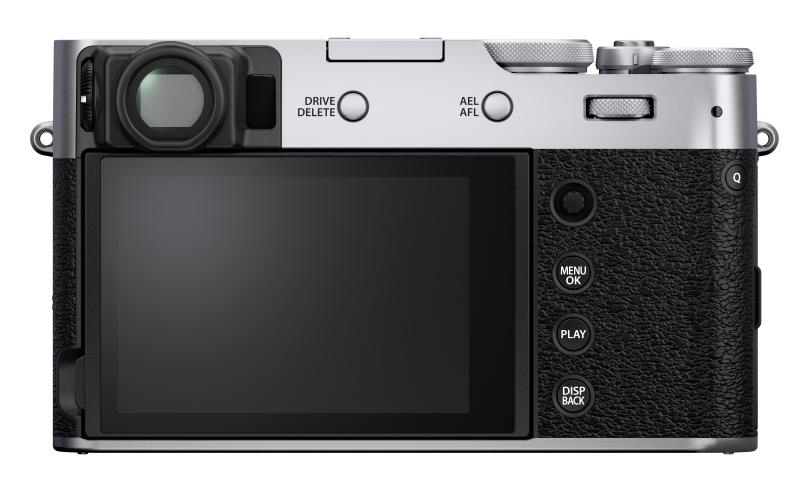The rear of the Fujifilm X100-V. (Image source: Fujifilm)