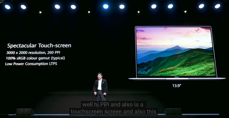 A nice screen, but it's the same that has been offered the last couple of years.