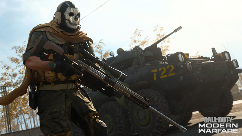 Ghost! | Image: Activision