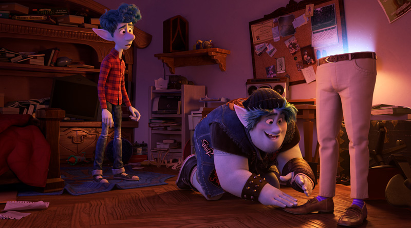 Ian and Barley Lightfoot only succeed in bring back half of their dad, and embark on a quest to bring the rest of him back. | Image: Disney