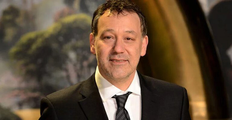 Sam Raimi, director of the first Spider-Man trilogy.