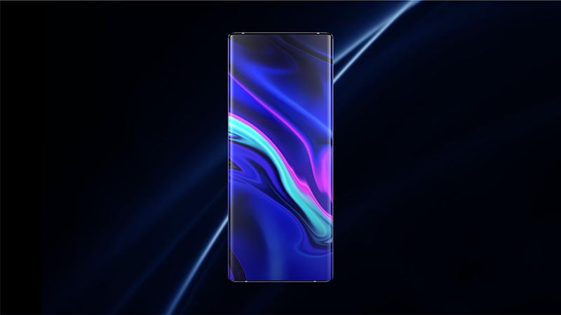 Vivo's new concept smartphone, the Apex 2020.