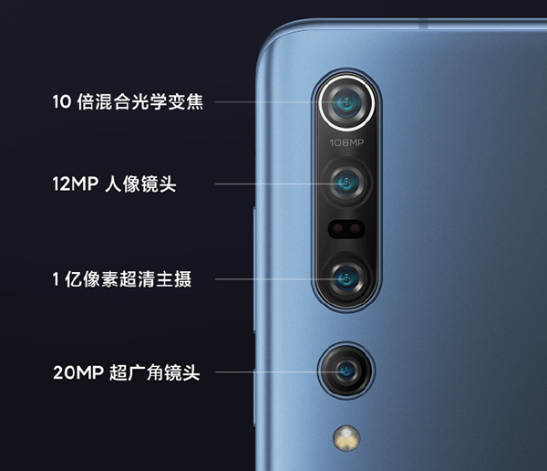 108-megapixel cameras are all the rage now. (Image source: Xiaomi)