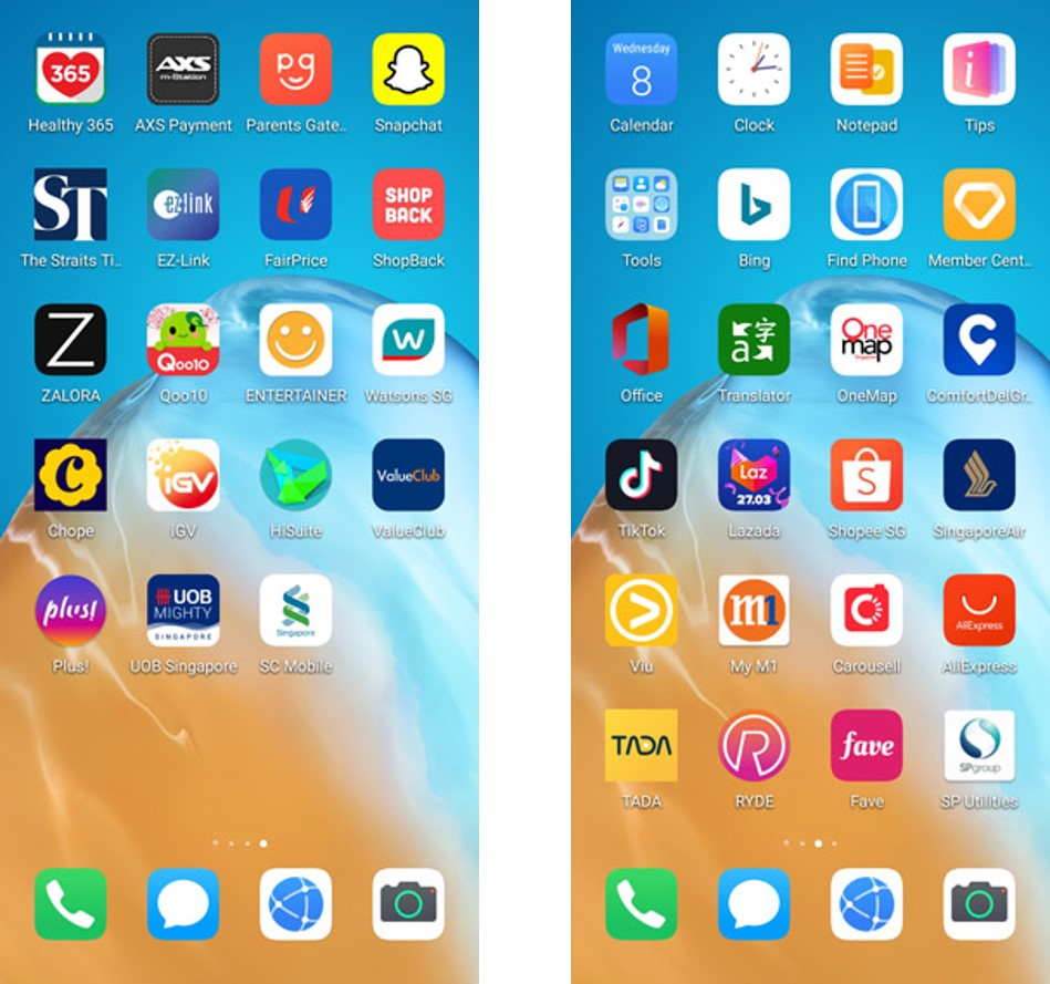 Here's a peek at just some of the Apps already available in HMS.