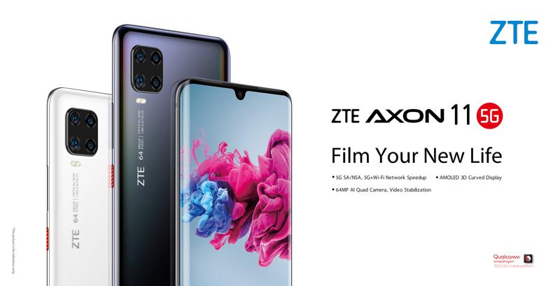 ZTE Axon 11 5G. Source: ZTE Facebook page.