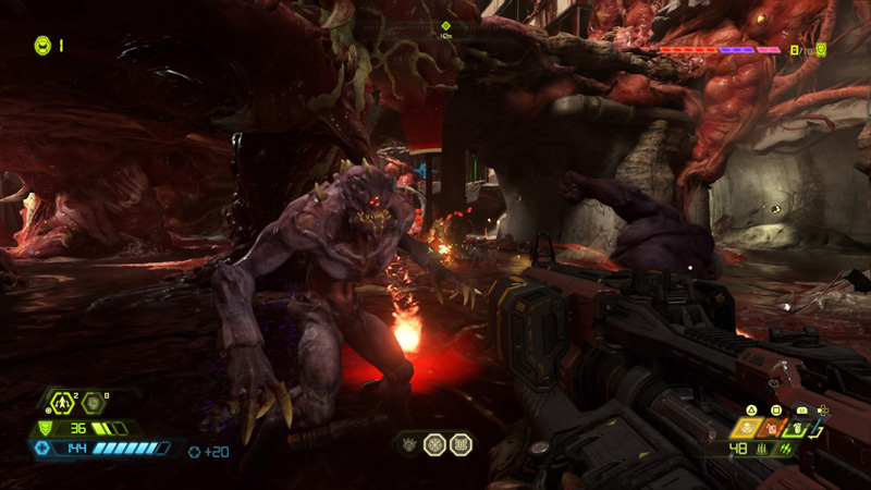 Combat in this game is absolutely excellent, and one of a kind among its first-person shooter peers.
