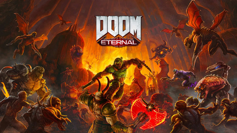Doom Eternal is a game about killing demons. Violently. | Image: id Software