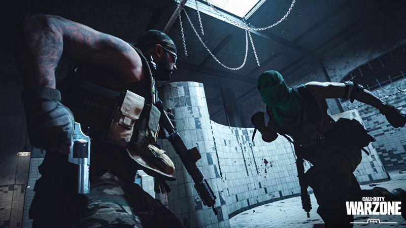 You'll have to battle folks in the Gulag to get back into the game. | Image: Activision
