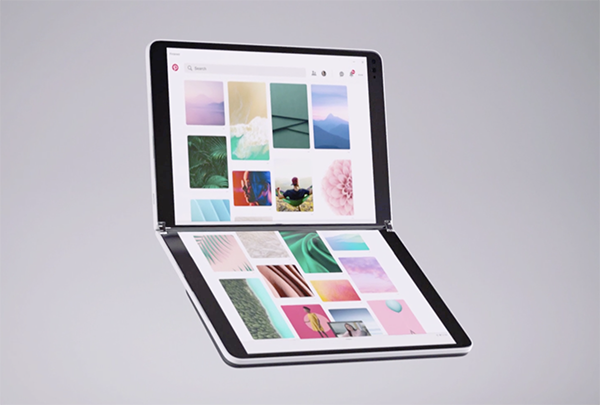 The Microsoft Surface Neo.