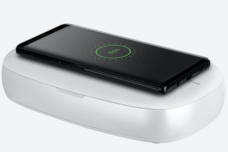 Momax Q.Power UV-Box sanitizing box has Qi charging