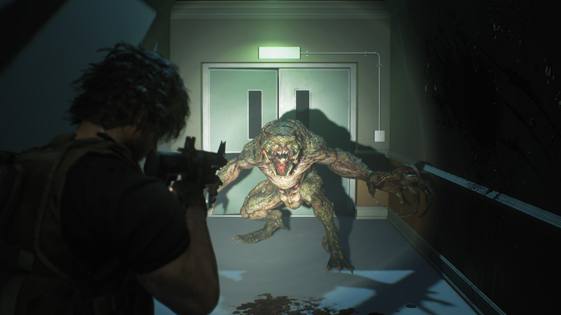 I do want to shout out some of the game's new enemy types. They're pretty great, and add some actual horror to this horror game whenever they show up. | Image: Capcom