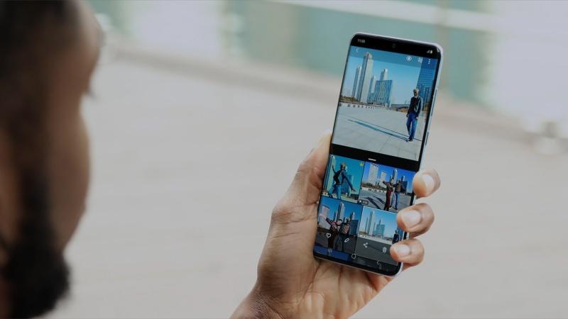Single Take on the Samsung Galaxy S20 Ultra 5G. <br>Image source: Samsung
