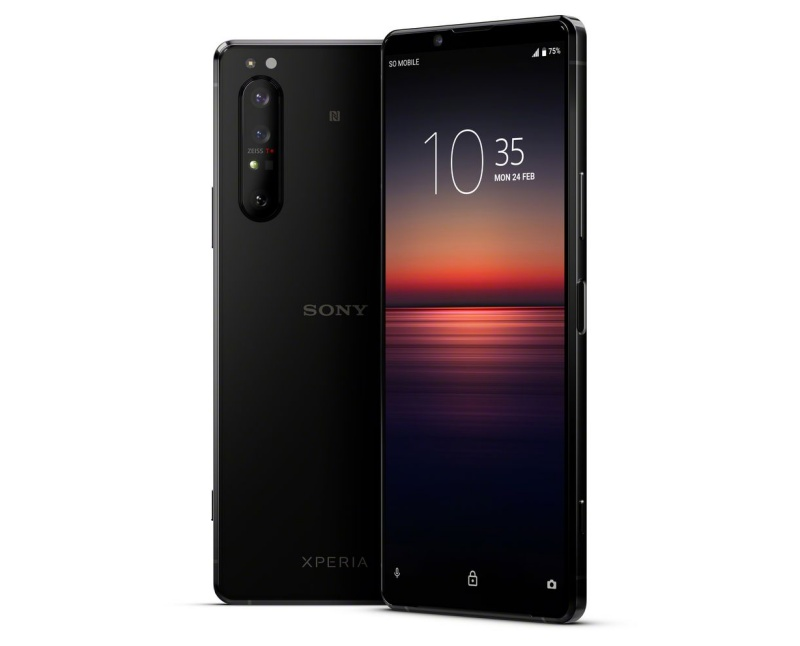 The Sony Xperia 1 II. <br>Image source: Sony