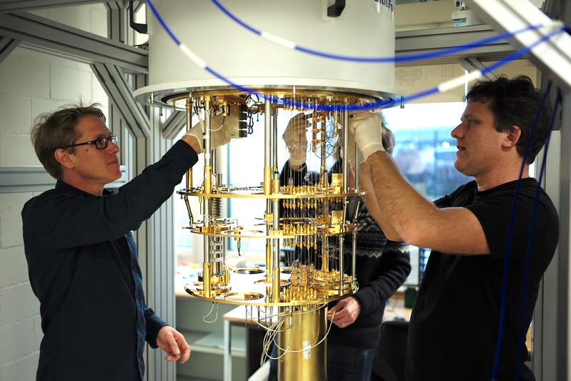 IBM scientists in Zurich, Switzerland, are building their own quantum research lab. Image courtesy of IBM