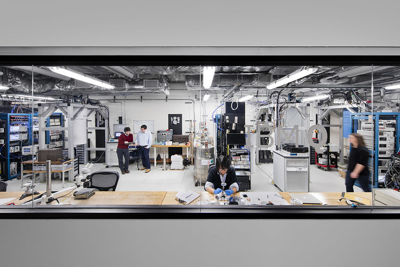 IBM Q Lab at the T.J. Watson Research Center, NY where IBM is building commercially available universal quantum computing systems. Image courtesy of IBM